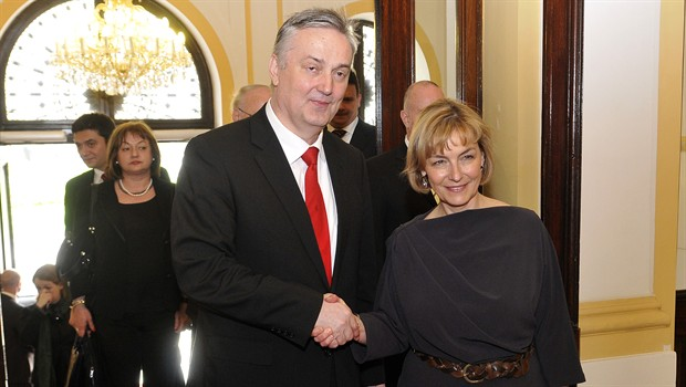 Zlatko Lagumdžija i Vesna Pusić