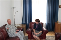 zamjenica ministra Ana Trisic-Babic i komandant NATO u BiH 29 10 2014